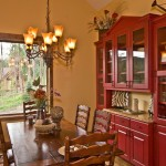 Breathtaking  Traditional Red Kitchen Table and Chairs Ideas , Lovely  Eclectic Red Kitchen Table And Chairs Photo Ideas In Kitchen Category