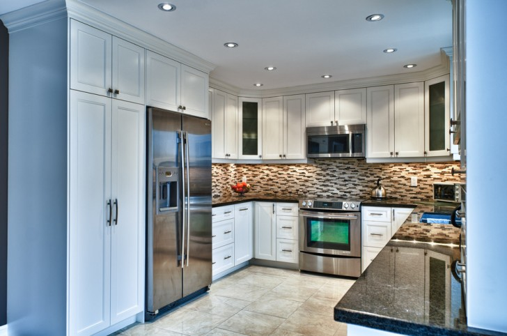 Kitchen , Gorgeous  Traditional U Shaped Kitchen Layout  Ideas : Breathtaking  Traditional U Shaped Kitchen Layout  Photos