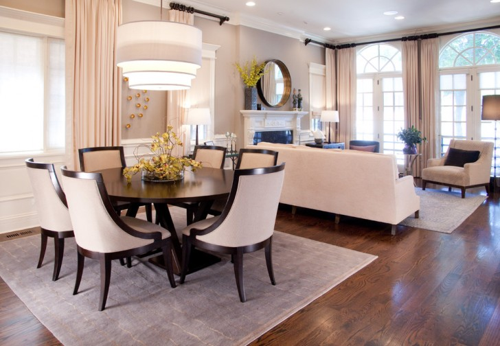 Dining Room , Stunning  Transitional Dinning Tables Sets Photo Ideas : Breathtaking  Transitional Dinning Tables Sets Photo Inspirations