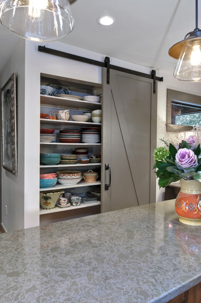 Kitchen , Awesome  Transitional Kitchen Pantry Cupboards Picture : Breathtaking  Transitional Kitchen Pantry Cupboards Inspiration