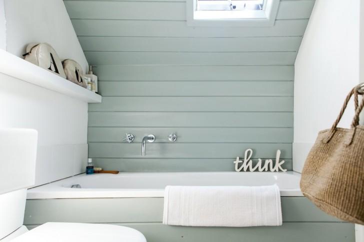 Bathroom , Awesome  Beach Style Bathroom Window Curtains Short Photos : Charming  Beach Style Bathroom Window Curtains Short Picute