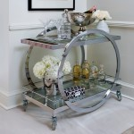 Charming  Contemporary Bar Carts Vintage Photo Ideas , Gorgeous  Beach Style Bar Carts Vintage Image In Dining Room Category