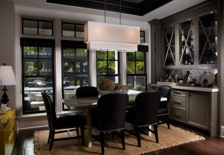 990x674px Fabulous  Contemporary Bar In Dining Room Inspiration Picture in Dining Room