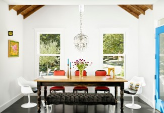 990x794px Stunning  Contemporary Dining Room Tables With Benches And Chairs Ideas Picture in Dining Room
