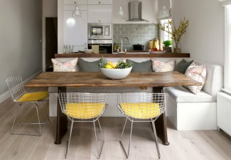 990x742px Fabulous  Contemporary High Kitchen Chairs Ideas Picture in Dining Room