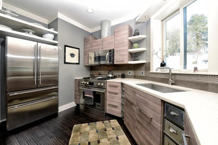Kitchen , Stunning  Contemporary Kitchen Cabinets At Ikea Ideas : Charming  Contemporary Kitchen Cabinets at Ikea Ideas
