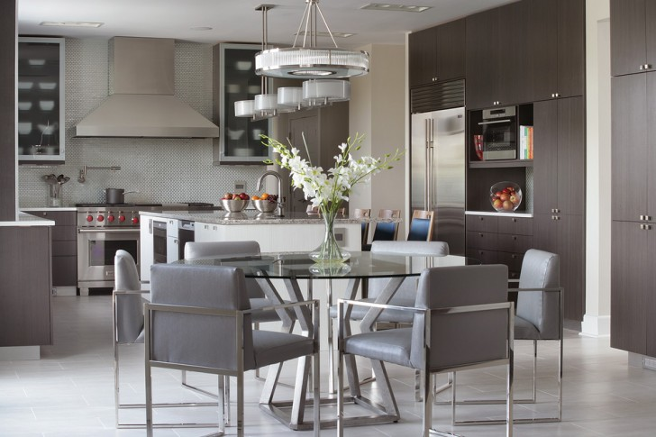 Dining Room , Fabulous  Beach Style Tables Chairs and More Image Inspiration : Charming  Contemporary Tables Chairs And More Photos