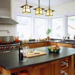 Charming  Craftsman Cherry Cabinets in Kitchen Image , Gorgeous  Traditional Cherry Cabinets In Kitchen Photo Inspirations In Kitchen Category
