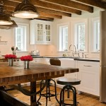 Charming  Farmhouse Kitchen Chopping Block Table Inspiration , Beautiful  Modern Kitchen Chopping Block Table Image In Kitchen Category