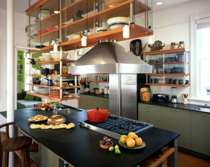 Kitchen , Charming  Industrial Prefab Concrete Countertops Picture Ideas : Charming  Industrial Prefab Concrete Countertops Ideas