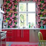 Charming  Shabby Chic Red Kitchen Table and Chairs Inspiration , Lovely  Eclectic Red Kitchen Table And Chairs Photo Ideas In Kitchen Category
