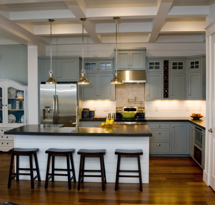 Kitchen , Breathtaking  Traditional Kitchen Islands With Wine Racks Photo Ideas : Charming  Traditional Kitchen Islands with Wine Racks Image Inspiration