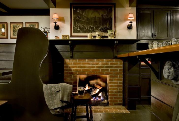 Basement , Beautiful  Traditional Pub Kitchen Sets Photo Inspirations : Charming  Traditional Pub Kitchen Sets Image