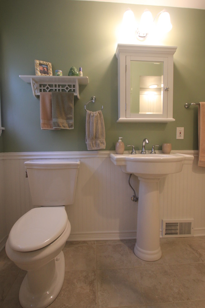 660x990px Fabulous  Traditional Small Bathrooms With Pedestal Sinks Picute Picture in Bathroom
