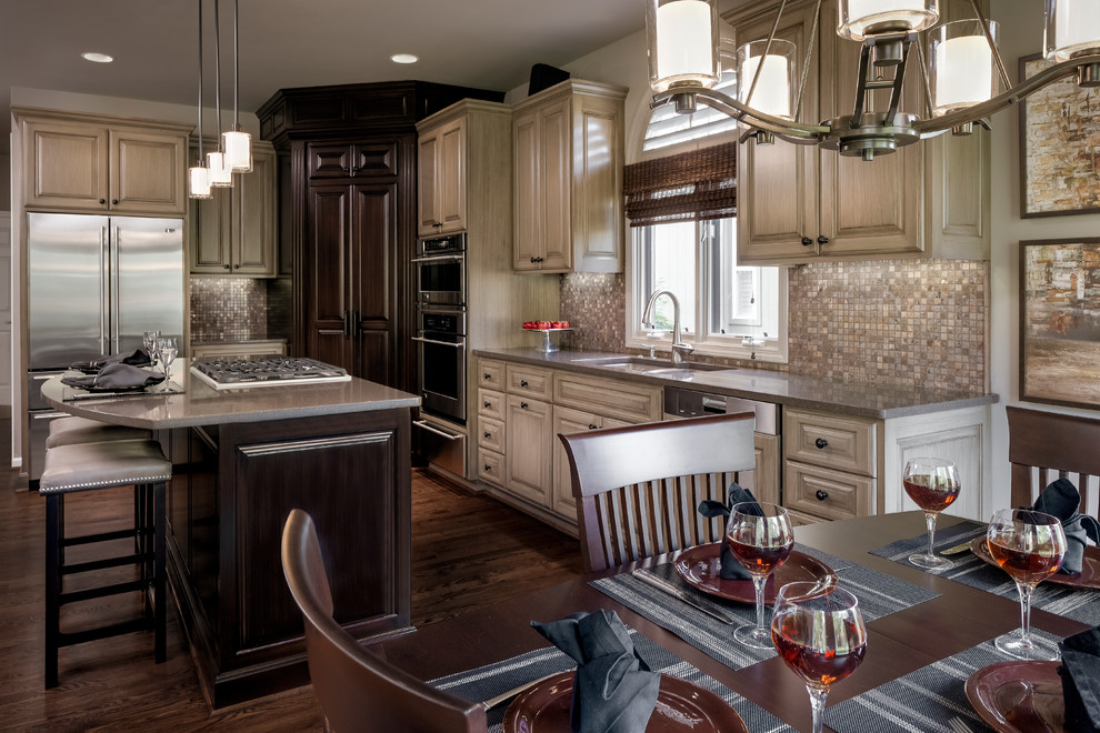 990x660px Lovely  Transitional Granite Countertops Overland Park Ks Image Inspiration Picture in Kitchen