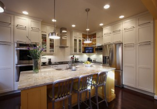 990x660px Gorgeous  Transitional Kitchen Island Cabinetry Picture Picture in Kitchen