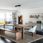 Cool  Beach Style Dining Room Tables with Benches and Chairs Image Inspiration , Stunning  Contemporary Dining Room Tables With Benches And Chairs Ideas In Dining Room Category