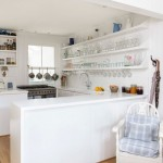 Cool  Beach Style White Kitchen Storage Ideas , Wonderful  Contemporary White Kitchen Storage Inspiration In Kitchen Category