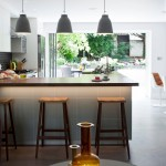 Cool  Contemporary Bars for Kitchen Inspiration , Gorgeous  Eclectic Bars For Kitchen Picture Ideas In Family Room Category