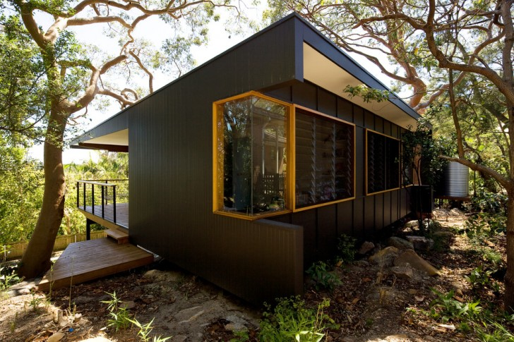 Exterior , Stunning  Contemporary Black Microwave Stand Picture : Cool  Contemporary Black Microwave Stand Picture