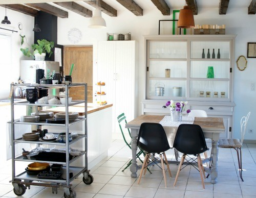 Dining Room , Gorgeous  Eclectic Ikea Oak Countertops Picture : Cool  Contemporary Ikea Oak Countertops Image Ideas