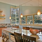 Cool  Contemporary Island Pot Rack Image Inspiration , Breathtaking  Traditional Island Pot Rack Photos In Kitchen Category