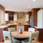 Cool  Contemporary Kitchen Wainscoting  Photo Inspirations , Lovely  Transitional Kitchen Wainscoting  Ideas In Kitchen Category