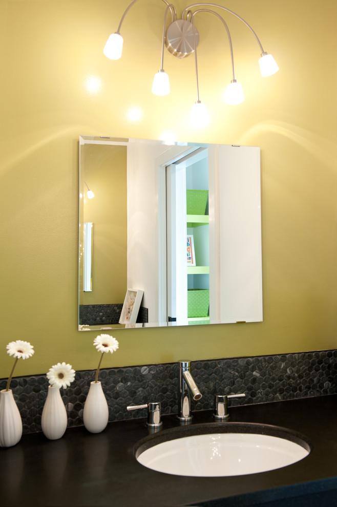 658x990px Wonderful  Contemporary Prefab Granite Countertops Houston Photo Ideas Picture in Bathroom