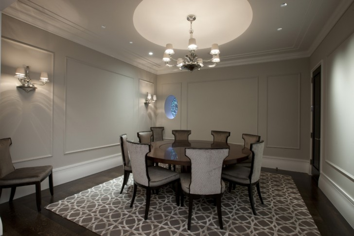 Dining Room , Stunning  Contemporary Round Dining Room Table And Chairs Image : Cool  Contemporary Round Dining Room Table and Chairs Picture Ideas
