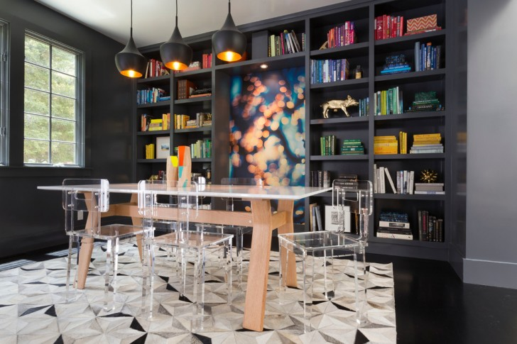 Dining Room , Lovely  Contemporary Wood Dining Room Table Sets Image : Cool  Contemporary Wood Dining Room Table Sets Image Inspiration