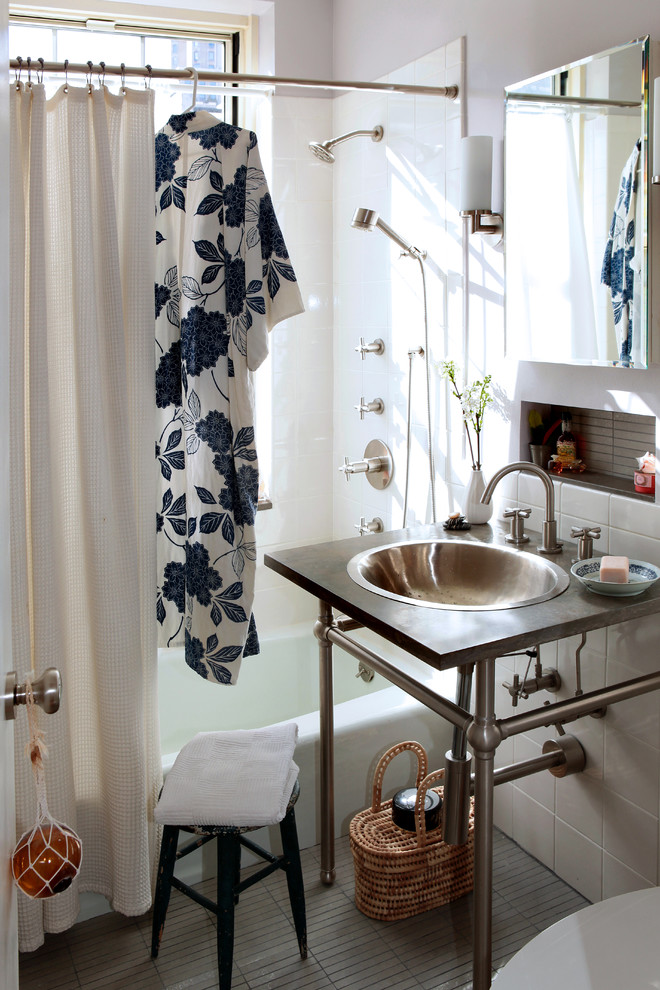 Bathroom , Awesome  Eclectic Bathroom Shower And Window Curtain Sets Picute : Cool  Eclectic Bathroom Shower and Window Curtain Sets Ideas