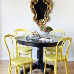 Cool  Eclectic Black Table Chairs Image Ideas , Gorgeous  Traditional Black Table Chairs Photo Inspirations In Dining Room Category