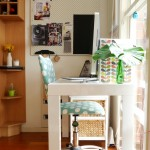 Cool  Eclectic Office Kitchen Tables Image , Lovely  Shabby Chic Office Kitchen Tables Picture In Home Office Category