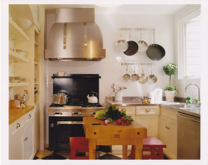 Kitchen , Fabulous  Mediterranean Small Kitchen Table with Stools Ideas : Cool  Eclectic Small Kitchen Table With Stools Photos
