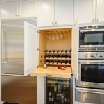 Cool  Farmhouse Microwave Cart with Wine Rack Ideas , Breathtaking  Eclectic Microwave Cart With Wine Rack Ideas In Dining Room Category