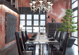 660x990px Cool  Industrial Glass Dining Room Tables And Chairs Image Picture in Dining Room