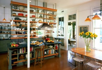 990x774px Beautiful  Industrial Large Portable Kitchen Island Image Ideas Picture in Kitchen