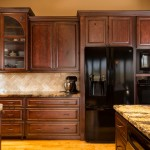 Cool  Mediterranean Black Microwave Cabinet Picture Ideas , Charming  Contemporary Black Microwave Cabinet Picture In Kitchen Category