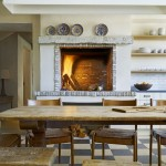 Kitchen , Beautiful  Contemporary Kitchen Table And Stools Image Ideas : Cool  Mediterranean Kitchen Table and Stools Image