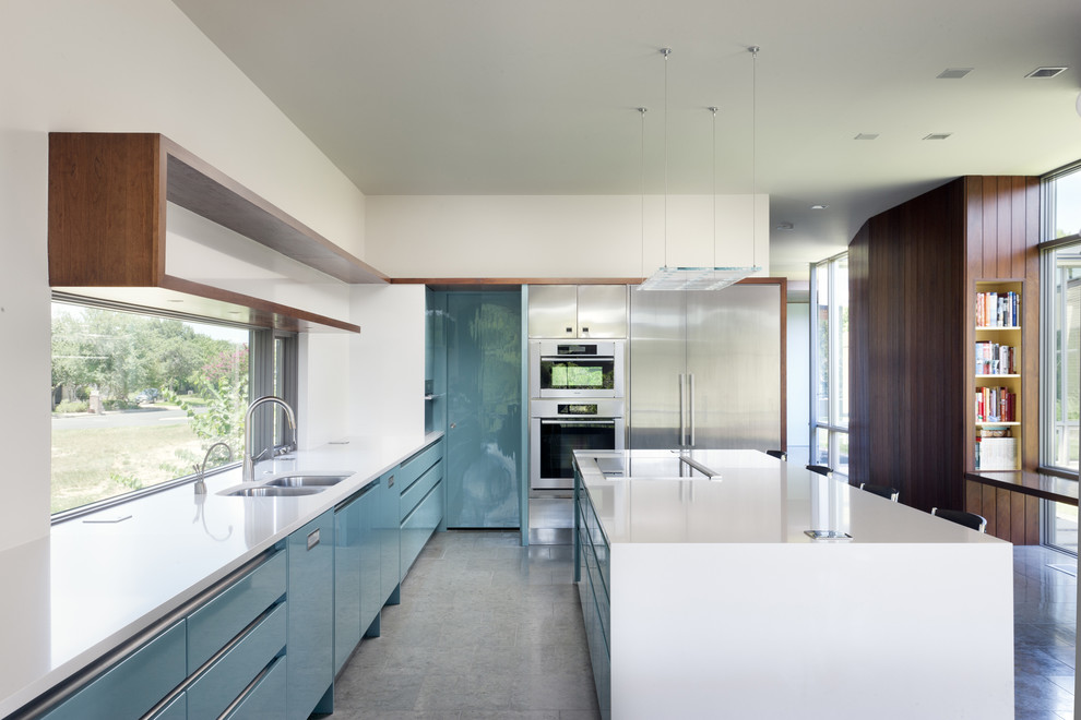 990x660px Gorgeous  Midcentury Kitchen Cabinet Door Design Image Ideas Picture in Kitchen