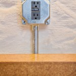 Cool  Modern Countertop Pop Up Electrical Outlet Picture Ideas , Wonderful  Farmhouse Countertop Pop Up Electrical Outlet Inspiration In Hall Category