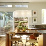 Cool  Modern Kitchen Table Bar Picture Ideas , Fabulous  Midcentury Kitchen Table Bar Inspiration In Dining Room Category