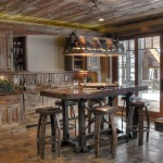 Cool  Rustic Bar Tables with Stools Image Inspiration , Breathtaking  Eclectic Bar Tables With Stools Image In Kitchen Category