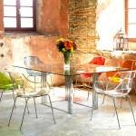 Cool  Rustic Dining Set Table Photo Ideas , Charming  Contemporary Dining Set Table Image In Dining Room Category