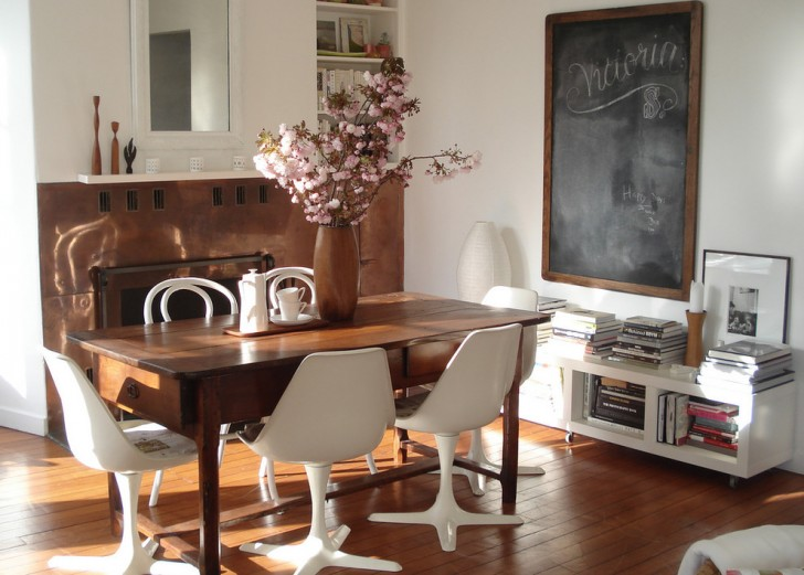 Dining Room , Cool  Shabby Chic Discount Dining Table Inspiration : Cool  Shabby Chic Discount Dining Table Picture