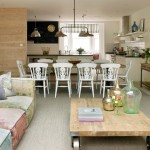 Cool  Shabby Chic Kitchen Side Tables Picture , Wonderful  Contemporary Kitchen Side Tables Photos In Kitchen Category