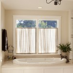 Cool  Traditional Curtains for a Bathroom Window Inspiration , Beautiful  Eclectic Curtains For A Bathroom Window Picute In Bathroom Category