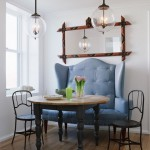 Cool  Traditional Upholstered Breakfast Nook Set Photos , Stunning  Beach Style Upholstered Breakfast Nook Set Image Ideas In Dining Room Category