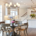 Cool  Transitional Kitchen Tables Chairs Photos , Wonderful  Eclectic Kitchen Tables Chairs Picture In Dining Room Category