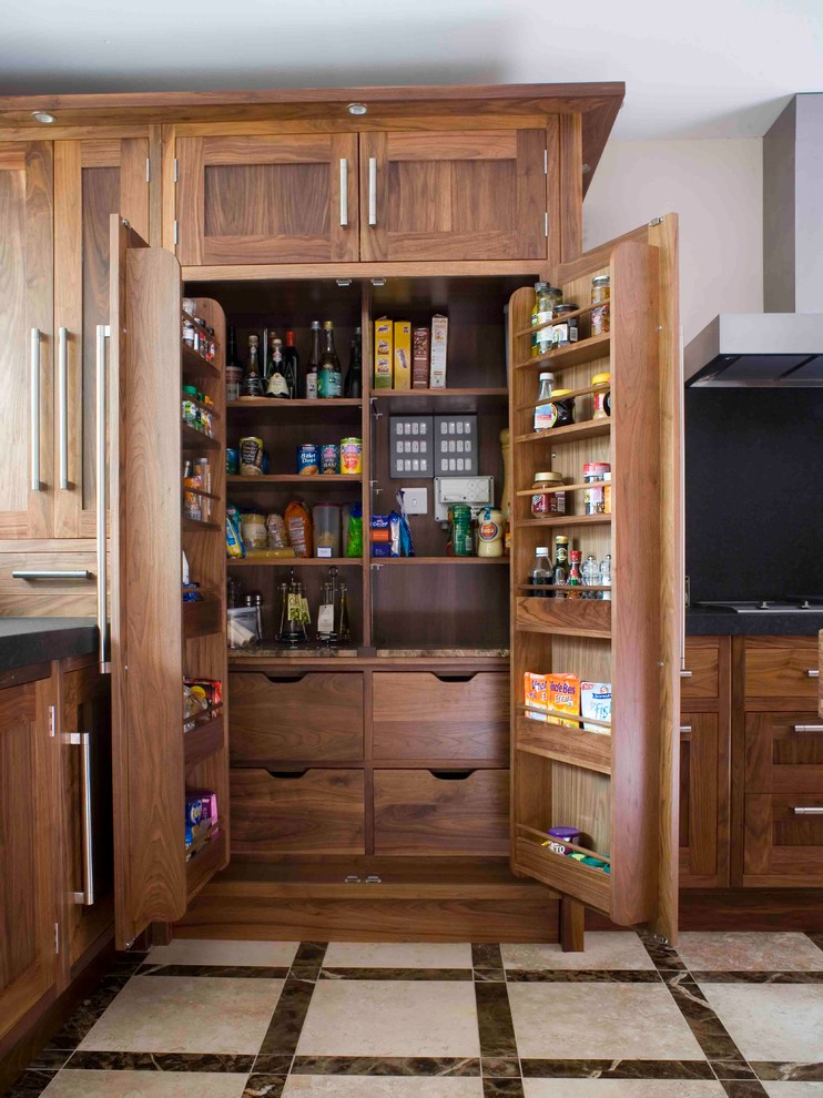 742x990px Wonderful  Transitional Pantry Kitchen Cabinets Inspiration Picture in Kitchen